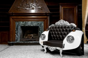 Интерьер в стиле глэм-барокко