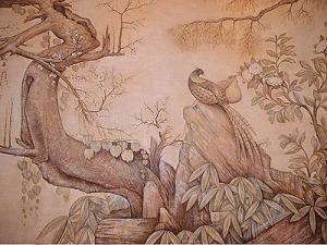роспись в коридоре, г.Киев, ул. Драгомирова