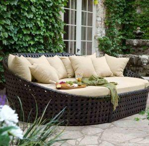 Все о плетеной мебели