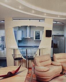 Гостиная - дизайн в современном стиле