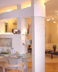 Современный дизайн гостиной в элитной квартире
