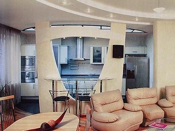 Элитный интерьер гостиной